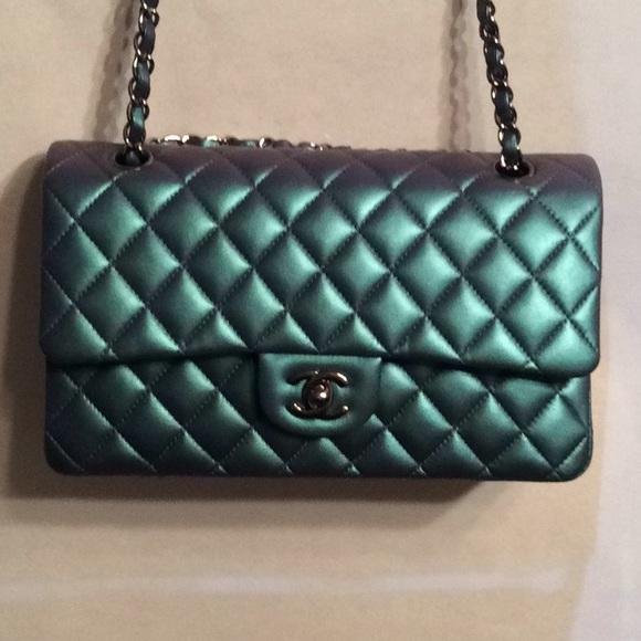 dcc269bf788f CHANEL Handbags - Chanel Iridescent Metallic Leather Bag 2018